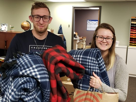 Blankets from Grace Fellowship 2019